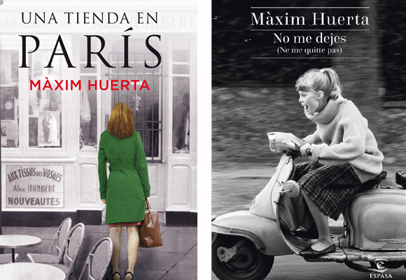 Compra aquí las novelas de Màxim Huerta