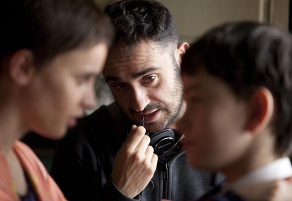 """Juan Antonio García Bayona durante el rodaje de """"Un monstruo viene a verme"""""""
