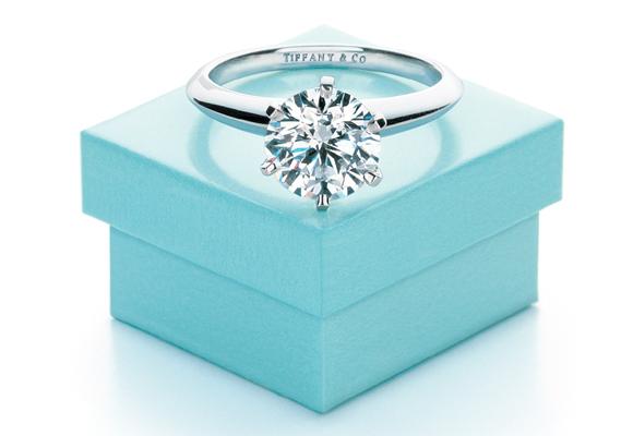 0a6229322518 Tiffany caja y anillo