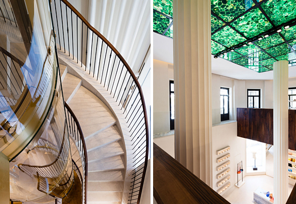 loewe-tienda-madrid-escalera