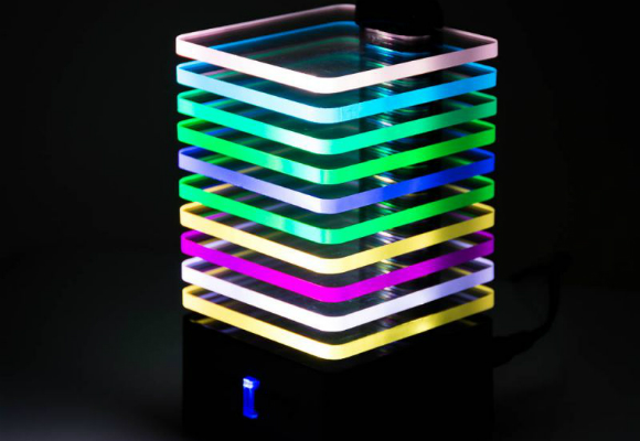 Light-Up EQ Bluetooth Speaker