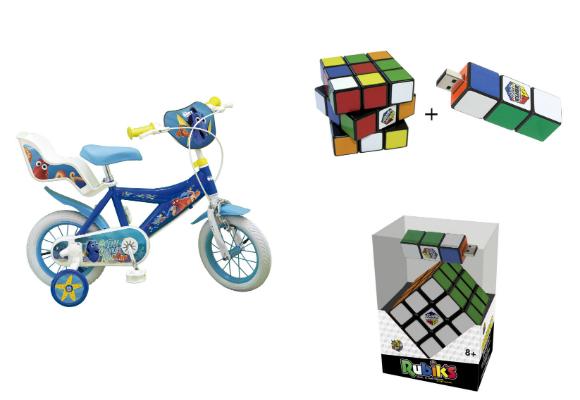 Cubo de Rubik Bicicleta Buscando a Dori