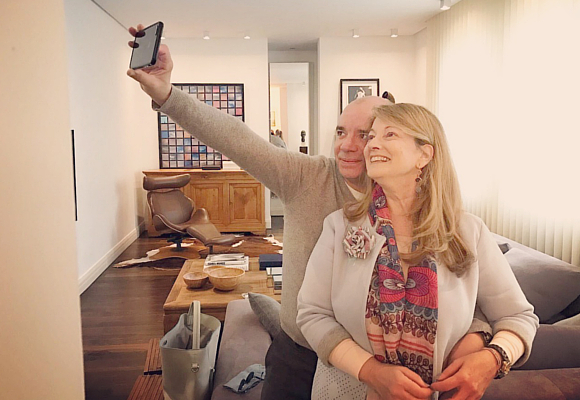 selfie-javier-cofino-y-amalia-enriquez-como-se-hizo