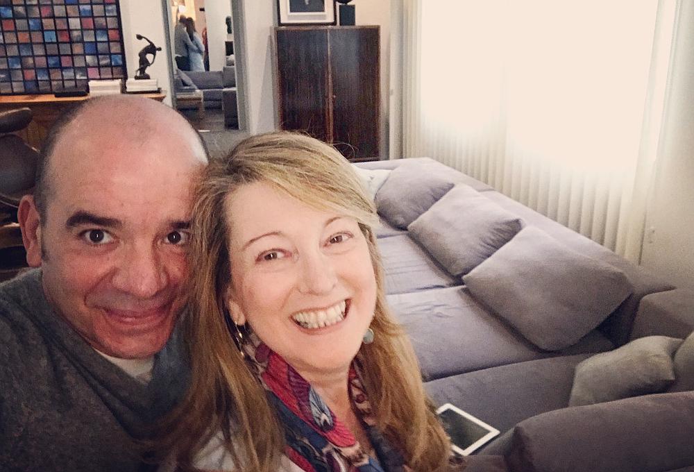 selfie-javier-cofino-y-amalia-enriquez