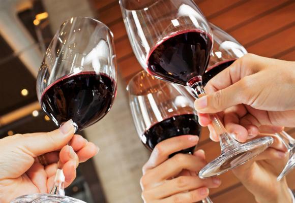 consumir vino