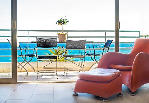 Apartamento en Cannes con vistas a la alfombra del festival