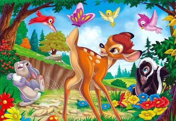 Bambi fue su primera película
