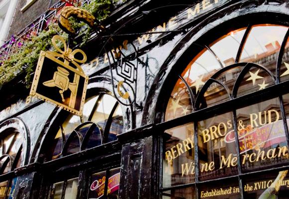 Berry-Bros & Rudd en el número 3 de St James's Street desde 1698