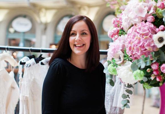 Sarah Richarson es una destacada florista en el condado de Yorkshire, Reino Unido