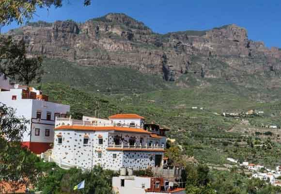 El pequeño municipio de Tunte tiene vistas espectaculares