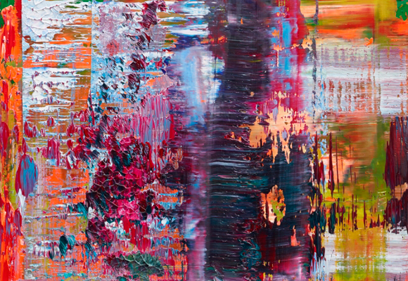 Pintura Abstracta de Gerhard Richter