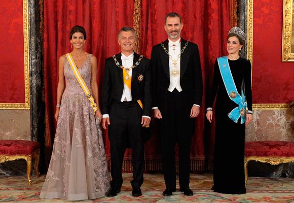 Las dos lucían espectaculares pero nos gustó más la Primera Dama argentina