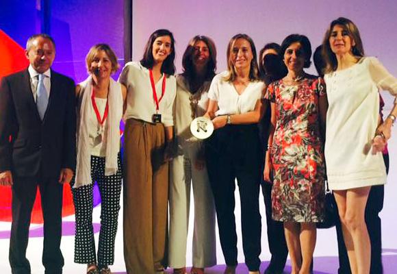 El equipo ISEM en los Premios Nacionales de la Moda