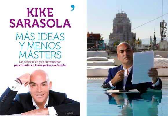 Su libro es una inspiración para muchos. A la derecha en la piscina de Room Mate Oscar. Foto: