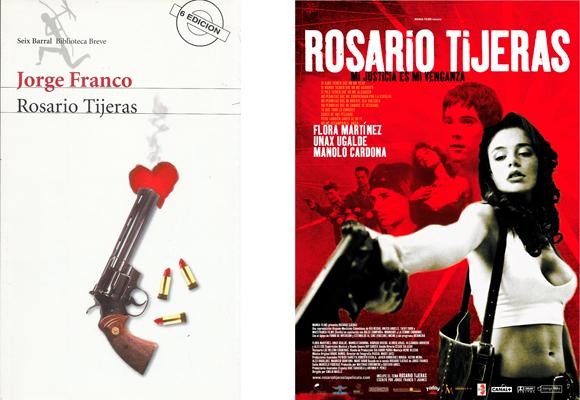 Le encantó el libro y coprodujo la película de 'Rosario Tijeras'