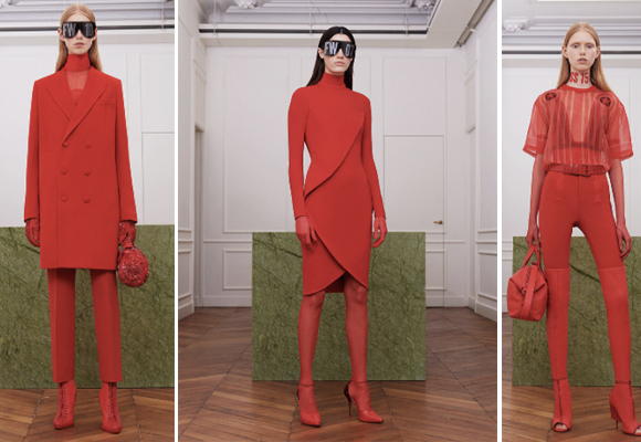 Nos gusta la propuesta monocolor de Givenchy