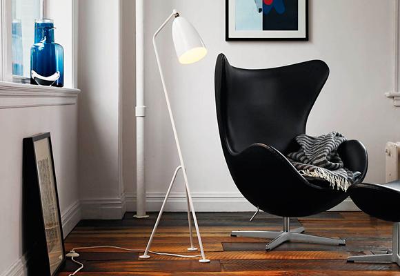 El Egg Chair se puede colocar en cualquier ambiente