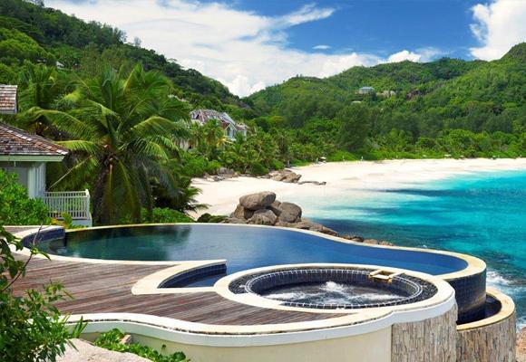 Todas las villas tienen piscina privada y vistas inmejorables